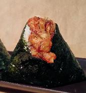 舞茸 天ぷらむすび